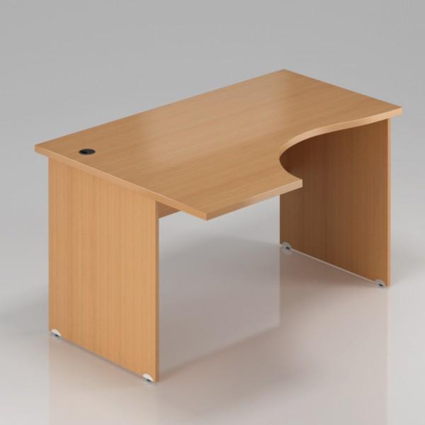 Rauman Ergonomický stůl Visio 160 x 70/100 cm, levý buk - doprava ZDARMA