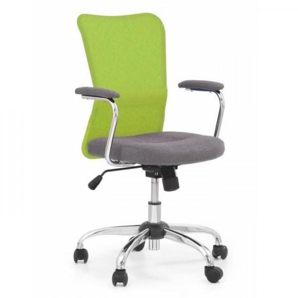 Halmar židle Andy zelená - doprava ZDARMA