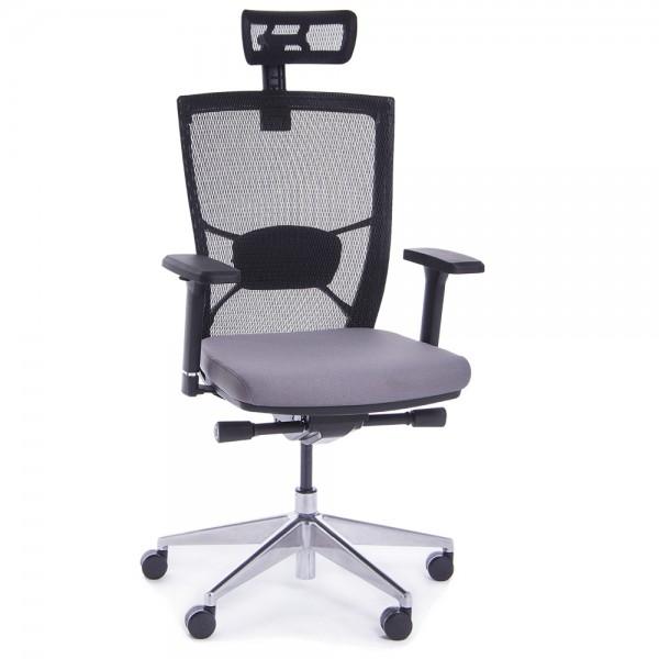 RAUMAN Kancelářská židle Marion šedá - doprava ZDARMA