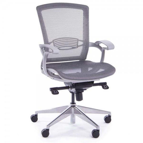 RAUMAN Kancelářská židle Charlotte šedá - doprava ZDARMA